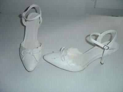 876c89aba5a chaussures ivoire de mariee