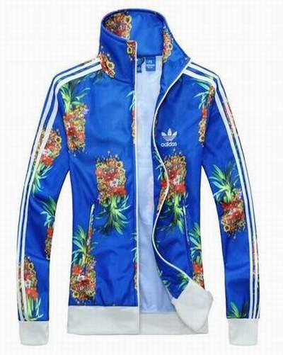 0dc901c25f Nuit Adidas Veste Survetement trench Bleu Court Tendance veste Adidas  5wO8aqwx